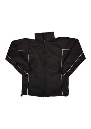 Evans Bay Intermediate School Jacket Black/White Piping